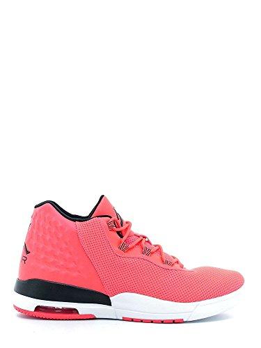 Nike Air Jordan Academy Mens Hi Top Trainers 844515 Sneakers Shoes (US 8.5, infrared 23 black white 605)