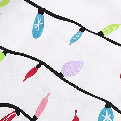 La Neonato Abbigliamento Famiglia Cocktail Tuta Natalizi Per Da Abiti Donna Tute Lunga Line Party Manica Pigiama Pantaloni Set 2pc Abito Homebaby Bambini Sleepwear A gaqwxSIa