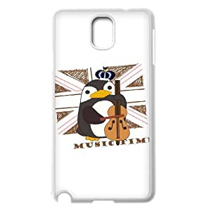 High Quality {YUXUAN-LARA CASE}Fairy Tale Unicorn And Penguin For Samsung Galaxy NOTE3 STYLE-18
