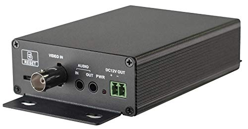 HDView Convert Analog Cameras to IP Cameras, PoE Realtime Encoder Converter Adapter, Support 4MP AHD 2MP TVI/AHD Cameras (Pinhole Ip Cam)