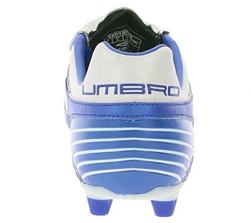 Umbro Santos A HG 886849-17H Herren Mens Blau Weiß Fußballschuhe