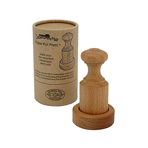 Creamore Mill - Prensa para macetas (Biodegradable): Amazon.es: Jardín