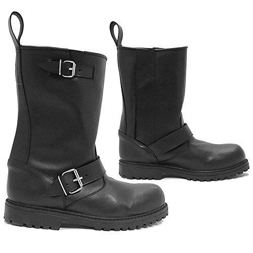 Diora Hawk Motorcycle Boots 44 Black (UK 10)