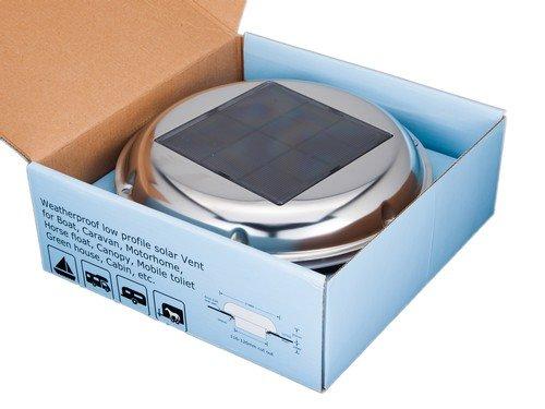 EG TECHNICS EG-SVT002 Eg Solar Ventilation With One AA Recharegable Battery ()