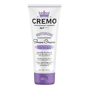 Cremo Lavender Bliss Moisturizing Shave Cream, Astonishingly Superior Shaving Cream For Women, Fights Nicks, Cuts And Razor Burn, 6 Ounces