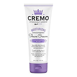 Cremo Moisturizing Shave Cream, Lavender Bliss, 6 Ounce