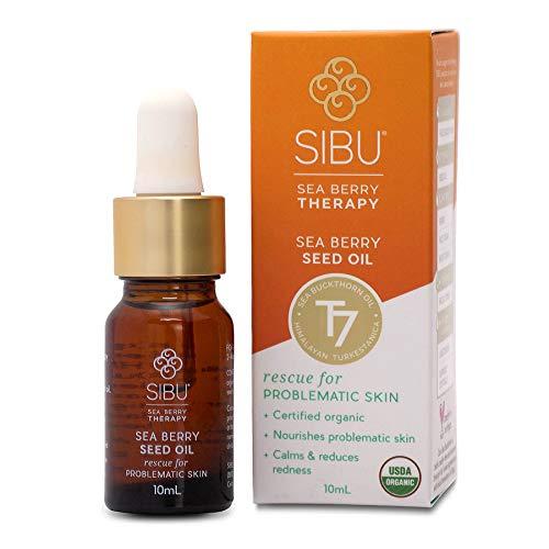 - SIBU Premium Omega 7 Sea Buckthorn Seed Oil, 10 ml