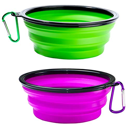 Buy collapsible dog water bowl stand
