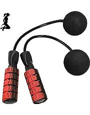 Springtouw Draadloos, Cordless Jump Rope met Kogellagers Zacht Schuimrubber Handvat, Gewogen Verstelbare Springtouwen, voor Training en Fitness