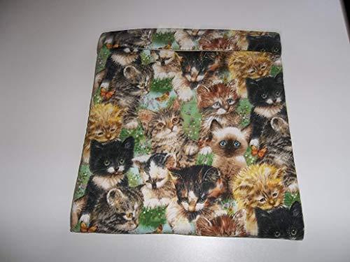 Microwave Potato Bag Kittens Large All Cotton Baked Potato Bag Handmade Kitchen Utensil