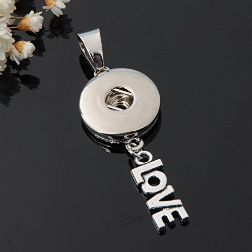 2017 NEW Crystal Alloy Pendant for Fit Noosa Necklace Snap Chunk Button A166