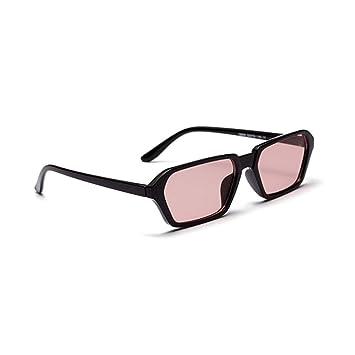 SUNNYJ Gafas De Sol Rectángulo Pequeño Gafas De Sol para ...
