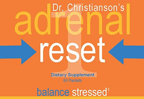 Adrenal Health Pack - Stressed for Weight Loss on the Adrenal Reset Diet - 60 Count by Dr Christianson