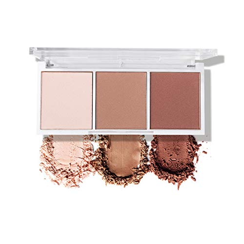 Contour Makeup Palette, Matte bronzer Powder Pallet For Face Cheekbones Contouring,Highlighting,Sculpting,Bronzing…