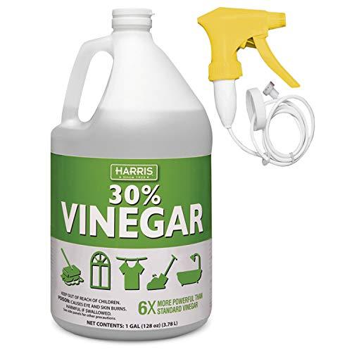 - Harris 30% Vinegar, Extra Strength with Trigger Sprayer Included, Gallon