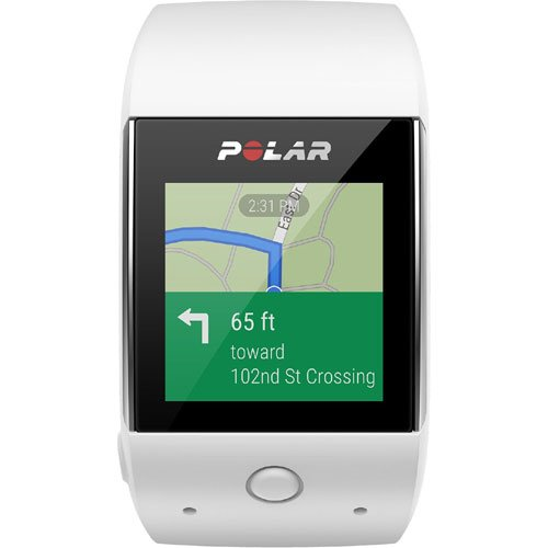 Polar M600 GPS Smart Watch with Heart Rate and Cinch Bag Fitness Kit - White by Polar (Image #4)