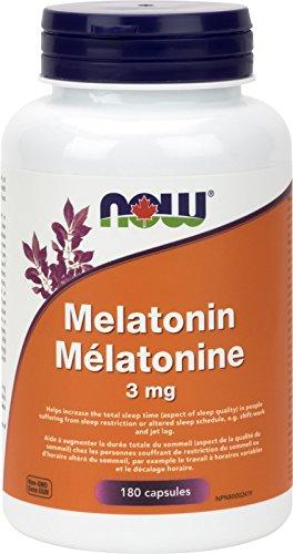 NOW Foods 733739032577 Melatonin Capsules