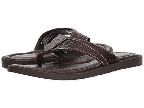 [Tommy Bahama(トミーバハマ)] メンズサンダル靴 Anchors Astern [並行輸入品] US 14(32cm) D - Medium ダークブラウン B07MNN42FN