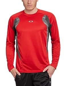 Oakley Men's Chop Chop Long Sleeve Shirt Red Line Size Large