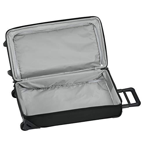 Briggs & Riley Baseline-Softside Medium Upright Rolling Duffle Bag, Black, 27-Inch