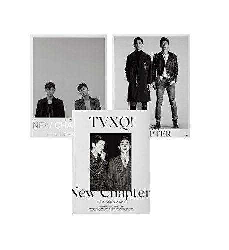 DBSK TVXQ - New Chapter #1 : The Chance of Love (Vol.8) CD+Booklet+Folded Poster