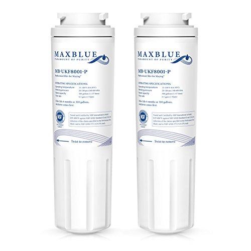 Maxblue NSF 53&42 Certified Refrigerator Water Filter, Repla
