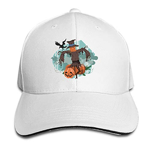 Customized Unisex Trucker Baseball Cap Adjustable Halloween Peaked Sandwich Hat