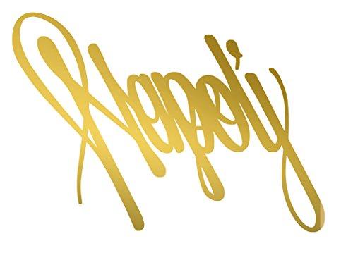 ANGDEST Napoli Naples Italy text Handwritiing (METALLIC GOLD) Waterproof Vinyl Decal Stickers for Laptop Phone Helmet Car Window Bumper Mug Tuber Cup Door Wall Decoration (Naples Cup)