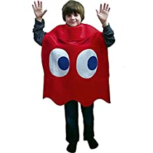 InCogneato 197673 Pac-Man Blinky Deluxe Child Costume - Red - One Size Fits Most Kids