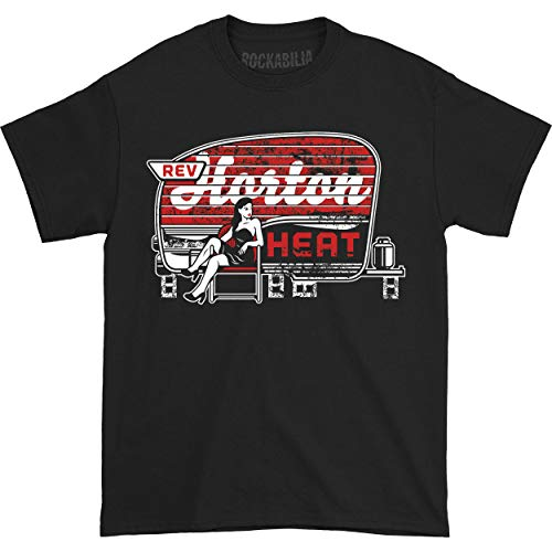 Reverend Horton Heat Men's Trailer T-shirt X-Large Black (Reverend Horton Heat T Shirt)