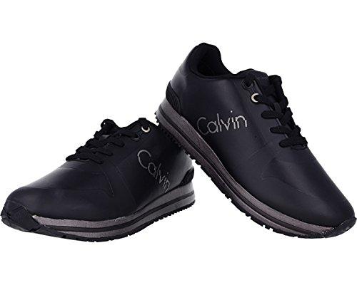 Edwin Calvin Indigo Uomo Sneaker Klein Smooth Rub HF 5zx848pHqw