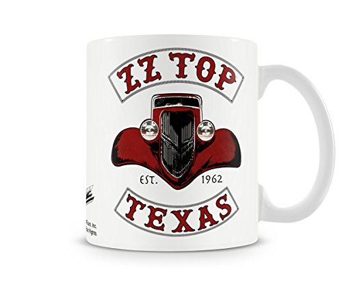 Officially Licensed ZZ-Top - Texas 1962 Coffee Mug ()
