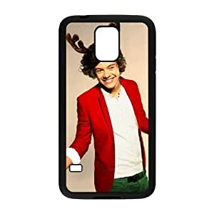 C-EUR Customized Print Harry Styles Hard Skin Case Compatible For Samsung Galaxy S5 I9600