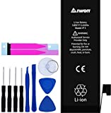 AIWOIT Battery for iPhone 5 Replacement, 1440mAh Full Capacity with Repair Kit, Adhesive Strips and Instructions, 2-Year Warranty