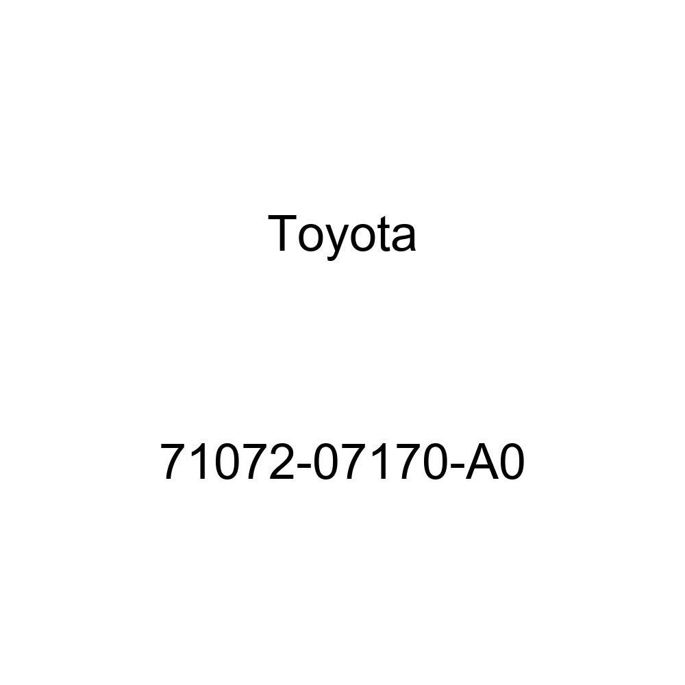 TOYOTA Genuine 71072-07170-A0 Seat Cushion Cover