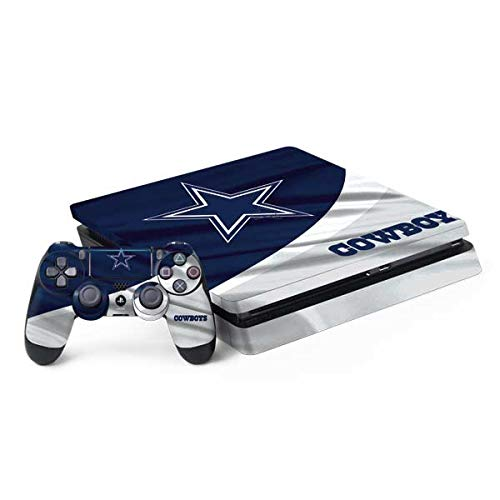 Skinit Decal Gaming Skin for PS4 Slim Bundle - Officially Licensed NFL Dallas Cowboys Design