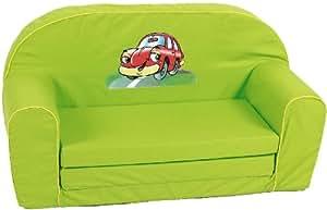 Knorr-baby 430140 - Mini-sofá cama, color verde