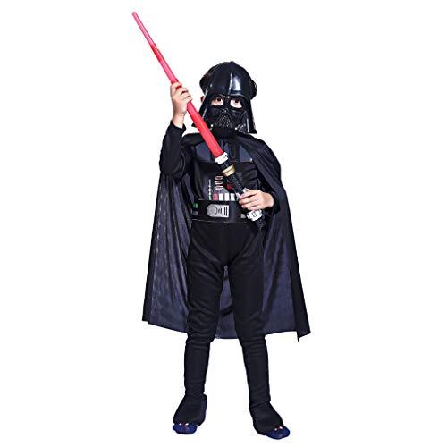 Star Wars: The Force Awakens Stormtrooper&Darth Vader Child's Cosplay Costume (Darth Vader,L)