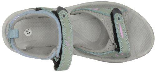 Unbekannt Jlt002 - Sandalias de cuero nobuck para mujer Azul