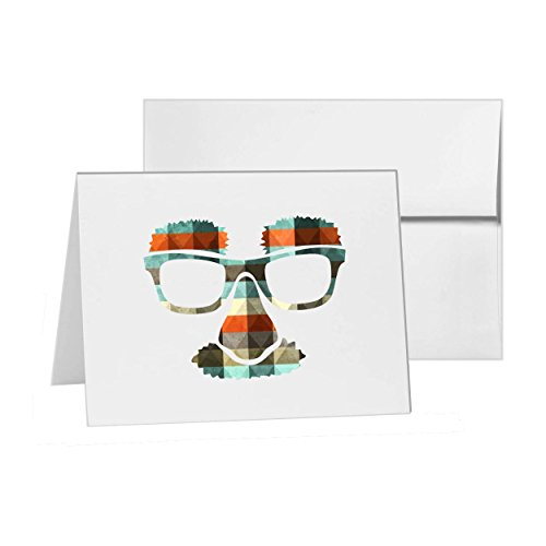 Disguise Costume Glasses Googles Groucho, Blank Card Invitation