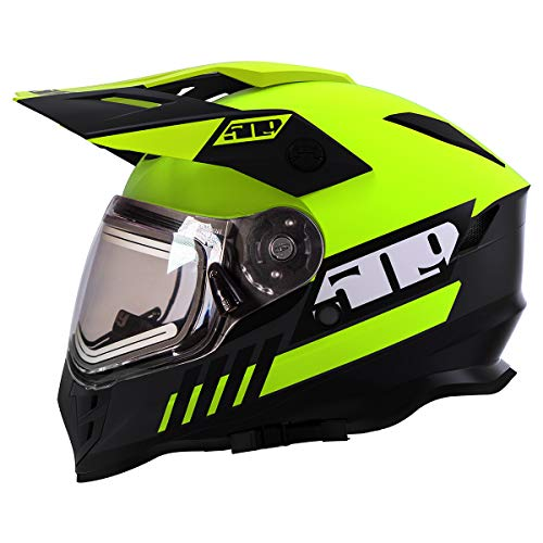 snowmobile heated visor - 9