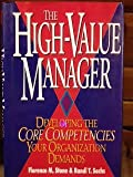 img - for The High Value Manager book / textbook / text book
