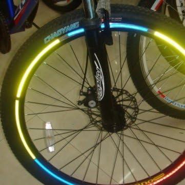 Man Friday Bike alta calidad de la bicicleta Ruedas llantas reflectantes Pegatinas Luminoso: Amazon.es: Deportes y aire libre