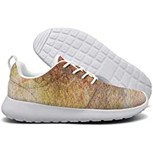 Shading Ink Chinese Style Watercolor Splash Fashion Print Athletic Sneakers Breathable Mesh Shoes