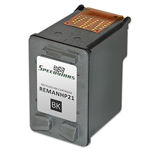 Speedy Inks - 3PK Remanufactured replacement for HP 21 C9351AN Black Ink Cartridge Photo #2
