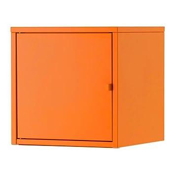 Metall;35x35cm Aus Lixhult Orange; Ikea Schrank In wkn0OP8