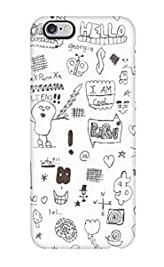 Faddish Phone Doodle Art Case For Iphone 6 Plus / Perfect Case Cover