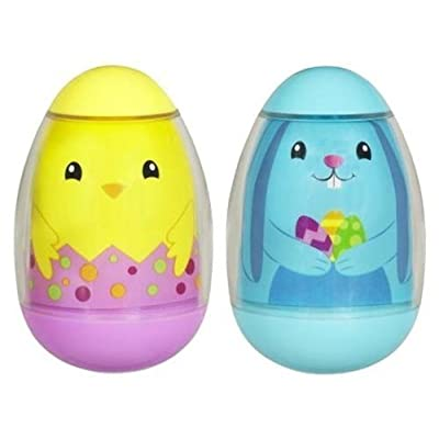 PLAYSKOOL WEEBLES Spring Basket (2-Pack) Bunny and Chick: Toys & Games