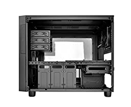Thermaltake CORE X5 Black E-ATX Stackable Liquid Cooling Certified Cube Chassis Case (CA-1E8-00M1WN-00)