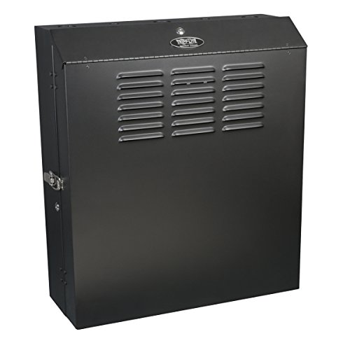 Tripp Lite 5U Vertical Wall Mount Rack Enclosure Cabinet, Low Profile, Switch-Depth, 20